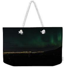 Glen Alps Northern Lights 3 Weekender Tote Bag