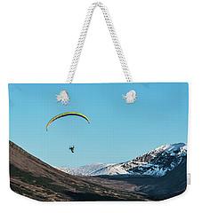 Glen Alps Paragliding Weekender Tote Bag