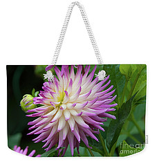 Glenbank Twinkle Dahlia 1 Weekender Tote Bag