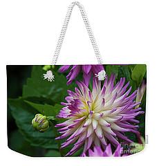Glenbank Twinkle Dahlia 4 Weekender Tote Bag