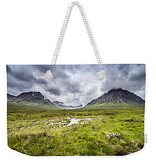 Weekender Tote Bag featuring the photograph Glencoe by Jeremy Lavender Photography