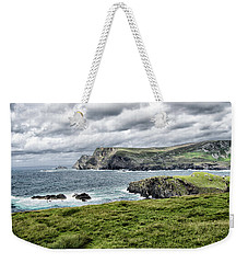 Weekender Tote Bag featuring the photograph Glencolmcille by Alan Toepfer