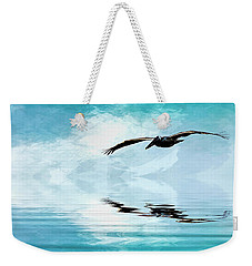 Gliding Weekender Tote Bag by Cyndy Doty