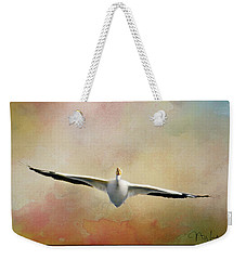 Gliding On Air Weekender Tote Bag