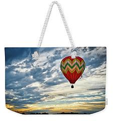 Gliding Through Sunset Weekender Tote Bag