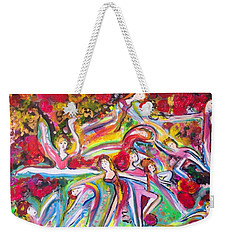 Glimpse Of Beauty Weekender Tote Bag