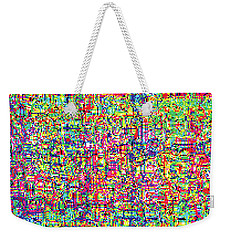 Glitch Number 6 Weekender Tote Bag