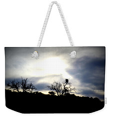Gloaming Epiphany Weekender Tote Bag by Nature Macabre Photography