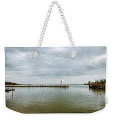 Gloom On The Bay Weekender Tote Bag