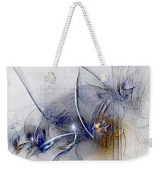 Glorifying The Vision Weekender Tote Bag by NirvanaBlues