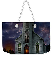 Glorious Night Church Weekender Tote Bag