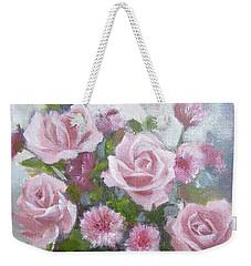 Glorious Roses Weekender Tote Bag