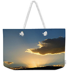 Weekender Tote Bag featuring the photograph Glorious Sunburst 1 by Will Borden