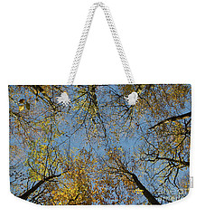 Weekender Tote Bag featuring the photograph Glorious Tree Tops by Kennerth and Birgitta Kullman