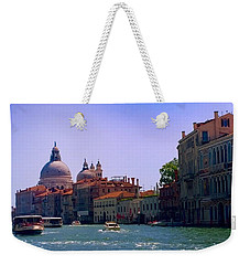 Weekender Tote Bag featuring the photograph Glorious Venice by Anne Kotan