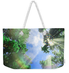Glory Amongst Redwoods Weekender Tote Bag