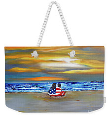 Glory Weekender Tote Bag by Barbara Hayes