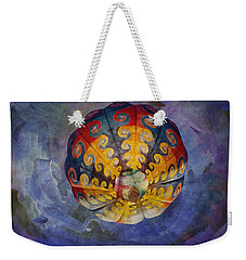 Weekender Tote Bag featuring the photograph Glory Of The Sky by Melinda Ledsome