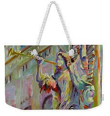 Glory To God In The Highest Weekender Tote Bag by Chris Brandley