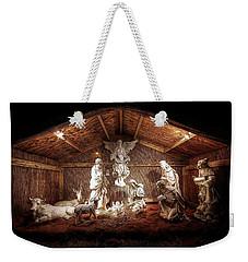 Glory To The Newborn King Weekender Tote Bag