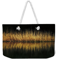 Glow And Reflections At Lakes Edge Weekender Tote Bag