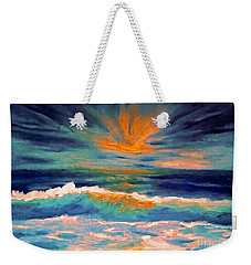 Glow Weekender Tote Bag by Holly Martinson