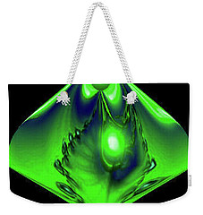 Weekender Tote Bag featuring the mixed media Glow by Kevin Caudill
