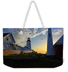 Glow Of Morning Weekender Tote Bag