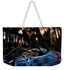 Weekender Tote Bag featuring the photograph Glow River by Michaela Preston