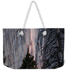 Glow Starting Horsetail Falls 2017 Weekender Tote Bag