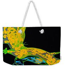 Glow Stick Weekender Tote Bag