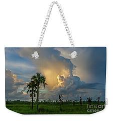 Glowing Cloud Sunrise Weekender Tote Bag