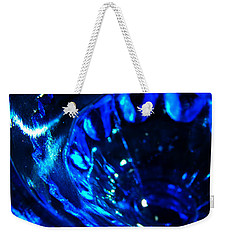 Glowing Glass Beauty Weekender Tote Bag by Samantha Thome