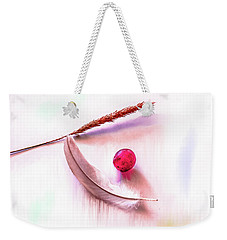 Weekender Tote Bag featuring the photograph Glowing Grape #g5 by Leif Sohlman