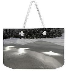 Glowing Landscape Lighting Weekender Tote Bag