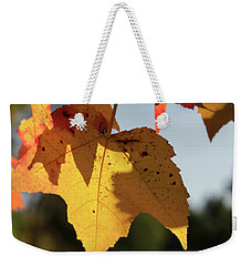 Glowing Leaves Weekender Tote Bag