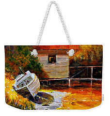 Glowing Light.. Weekender Tote Bag