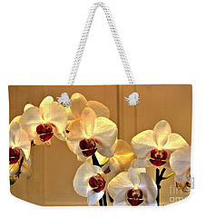 Glowing Orchids Weekender Tote Bag