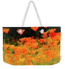 Glowing Poppies Weekender Tote Bag