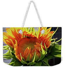 Glowing Sun Weekender Tote Bag