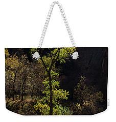 Glowing Tree At Zion Weekender Tote Bag
