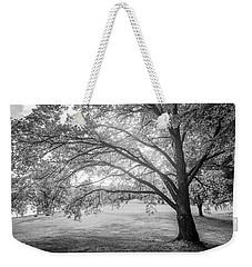 Glowing Tree Weekender Tote Bag by Teemu Tretjakov