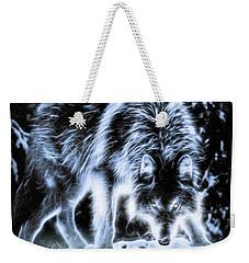 Glowing Wolf In The Gloom Weekender Tote Bag