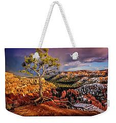 Gnarled Tree At Bryce Canyon Weekender Tote Bag
