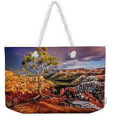 Gnarled Tree At Bryce Canyon Weekender Tote Bag