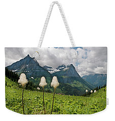 Glacier Beargrass Weekender Tote Bag
