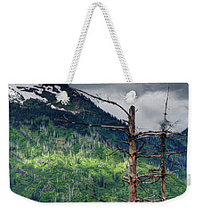 Glacier Sunlight Weekender Tote Bag