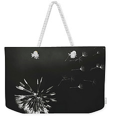 Weekender Tote Bag featuring the photograph Go Forth Bw by Heather Applegate