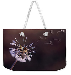 Go Forth Fall Weekender Tote Bag by Heather Applegate