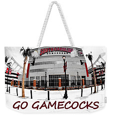 Weekender Tote Bag featuring the photograph Go Gamecocks by Lisa Wooten